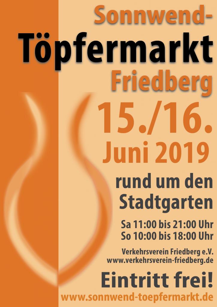 Sonnenwend Töpfermarkt Friedberg